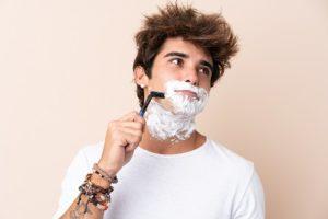 Men Face Care - Men's Skincare Routine, Shaving