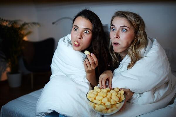 Girls night in Ideas - Binge Movies
