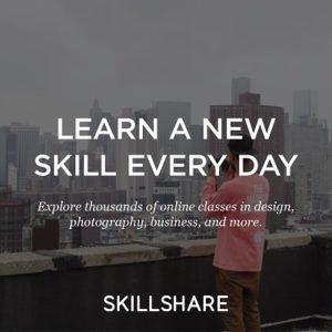 Best online courses, Skillshare