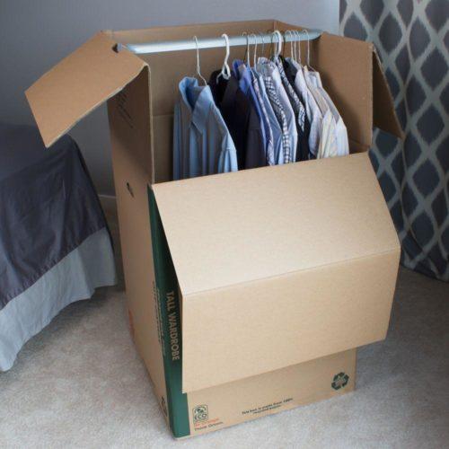 Essential Moving Supplies - Wardrobe Box